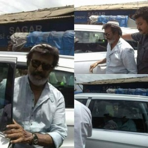 Kaala begins with a song shoot?