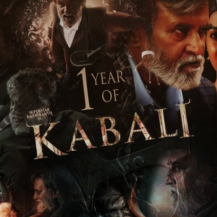 Rajinikanth's Kabali celebrates its first anniversary today, the 22nd July 2017