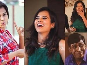 """Haiyooo, Haiyooo."" - Ramya Pandian's ultimate ROFL moments! Deleted scenes and Bloopers - Try not to miss!"