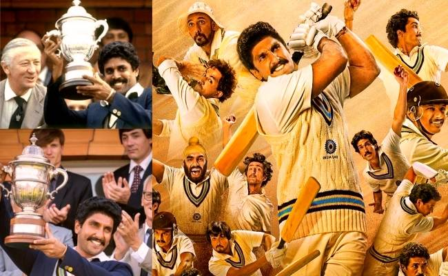 Ranveer Singh's team 83 celebrates Indian World Cup Cricket team with a special video