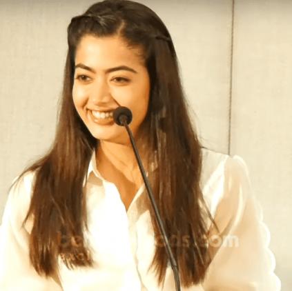 Rashmika Mandana talks about Dear Comrade and much more