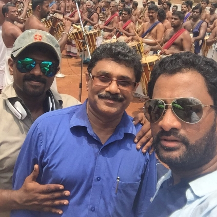 Resul Pookutty involved in capturing the essence of Pooram festival