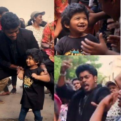 Sandy's verithanam dance video with his adorable daughter Lala