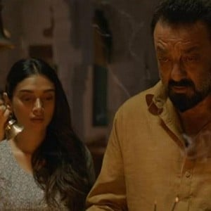 The mass trailer of Bhoomi is here. Check!