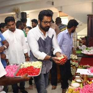Sarathkumar begins his next
