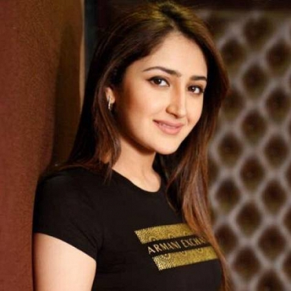 Sayyesshaa tweets in support of the me too movement