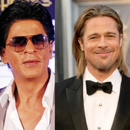 Shah Rukh Khan and Brad Pitt have plans to produce films together