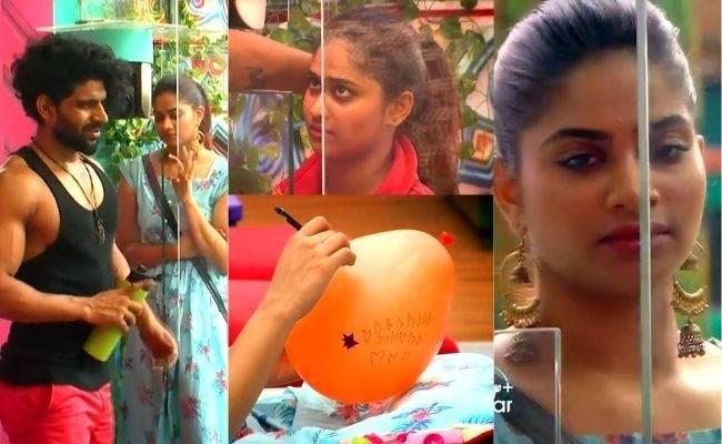 Shivani's despair at Bala's jail sentence ft Bigg Boss Tamil 4