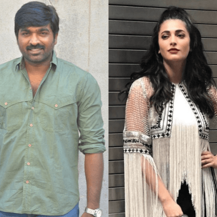 Shruti Haasan to pair with Makkal Selvan in S.P.Jananathan's project