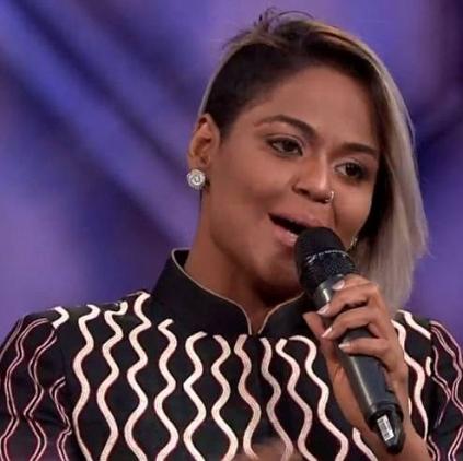 Singer NSK Ramya's first statement post Bigg Boss eviction