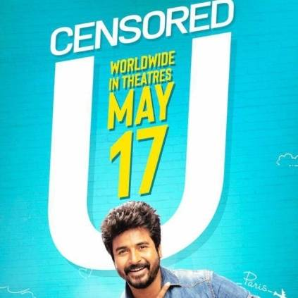 Sivakarthikeyan's Mr.Local gets censored U