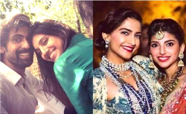 Sonam Kapoor congratulates Miheeka but with a warning to Rana