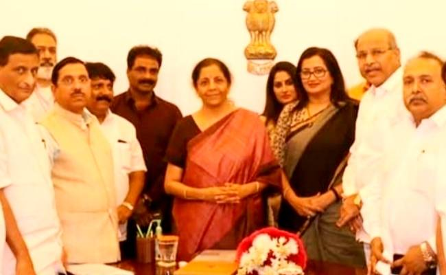 South Indian Film Chamber of Commerce's statement after meeting Nirmala Sitharaman regarding TDS issues