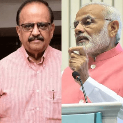 SP Balasubrahmanyam upset with PM Narendra Modi for receiving partial treatment at a recent event