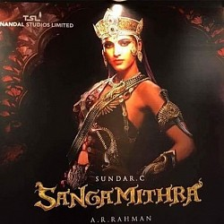Spokesperson clarifies on why Shruti Haasan opted out of Sangamithra