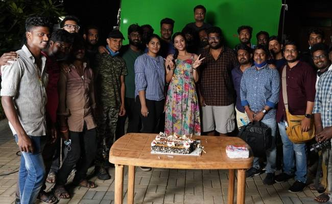 Srinidhi Shetty wraps her portion in Cobra featuring Vikram