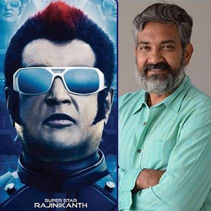 SS Rajamouli wishes 2 point 0 team for the release