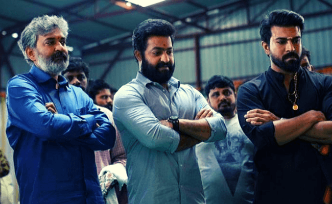 SS Rajamouli's RRR title look and motion poster release date out