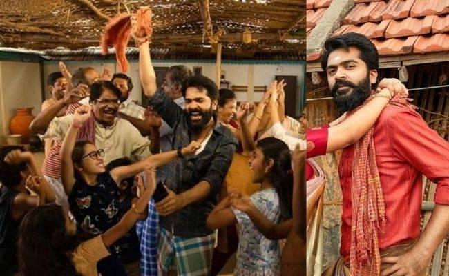 STR's Eeswaran viral pics with Niddhi Aggarwal