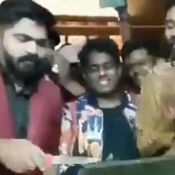 Simbu's Red-Card Party, Conditions Apply!