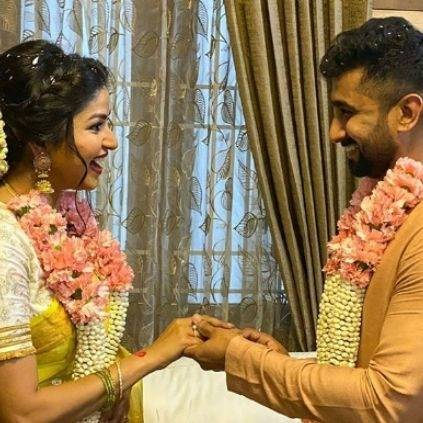 Sun TV serial 'Nandini' fame Nithya Ram gets engaged