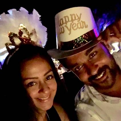 Suriya goes on a vacation to Maldives with Jyothika and family