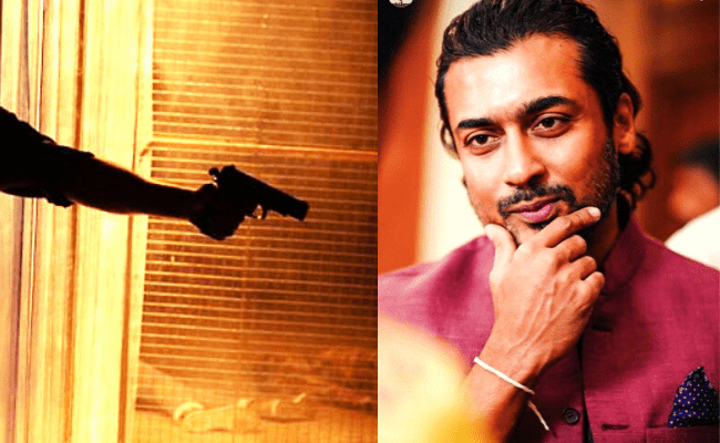 Suriya shares a massive announcement with a mass viral pic from Suriya 40 directed by Pandiraj