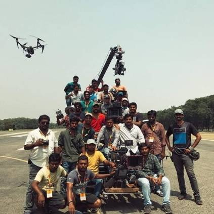 Suriya's Soorarai Pottru completes its first schedule shooting