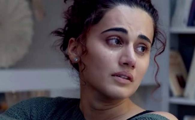 Taapsee Pannu shocked after receiving electric bill of a huge sum for her vacant house