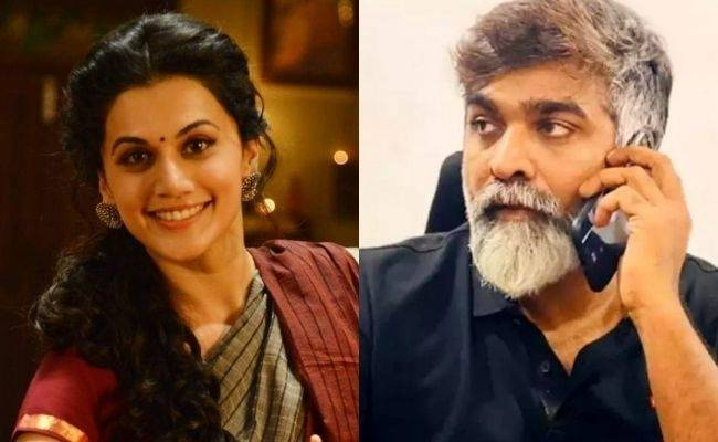 Taapsee Pannu's next with Vijay Sethupathi major twist with shooting pics