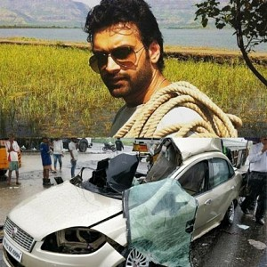 Sad: Two actors killed in a fatal car accident