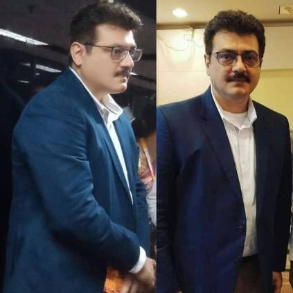 Thala Ajith in an amazing new getup picture here