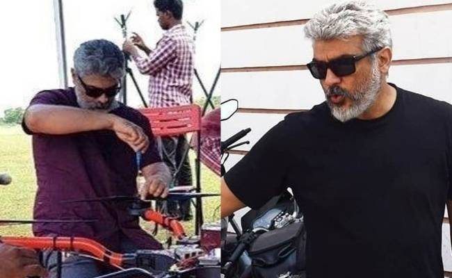 Thala Ajith's Daksha team drone used for spraying disinfectant