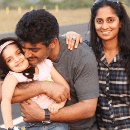 Thala Ajith's daughter's birthday wish hashtag trend nation-wide on Twitter