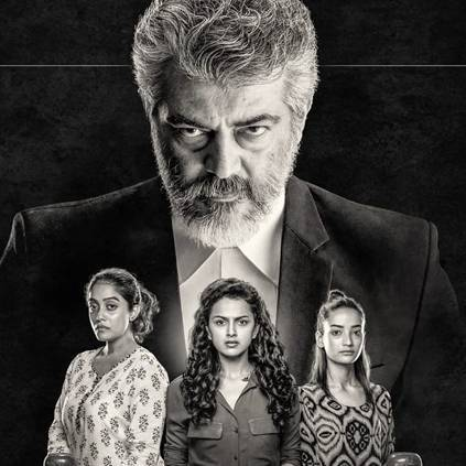 Thala Ajith's Nerkonda Paarvai by H Vinoth to release on August 10 2019