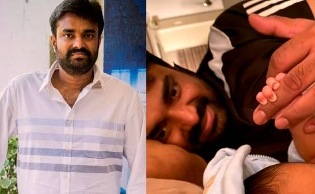 Thalaivi director Vijay's pic with his new-born baby is going viral