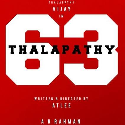 Thalapathy 63 will have a sports angle like Ghilli