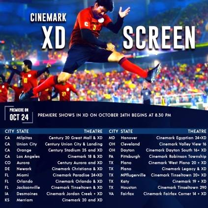 Thalapathy Vijay and Atlees Bigil USA Theatre List