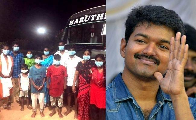 Thalapathy Vijay's noble gesture to help people in need goes viral