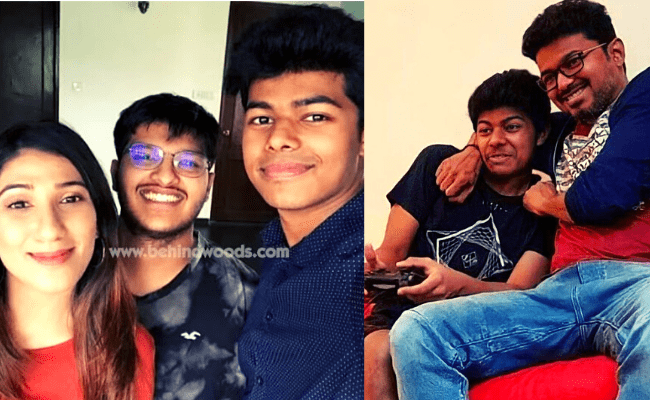 Thalapathy Vijay's son Jason Sanjay's uber-cool party videos and pics are going viral