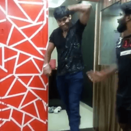 Tharshan's dashing dance video for Thalapathy's Verithanam song