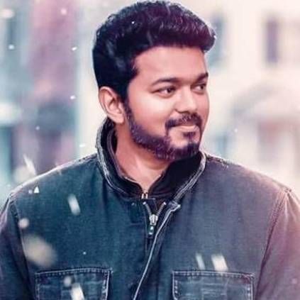 The second look of Bigil will feature Vijay with female football team