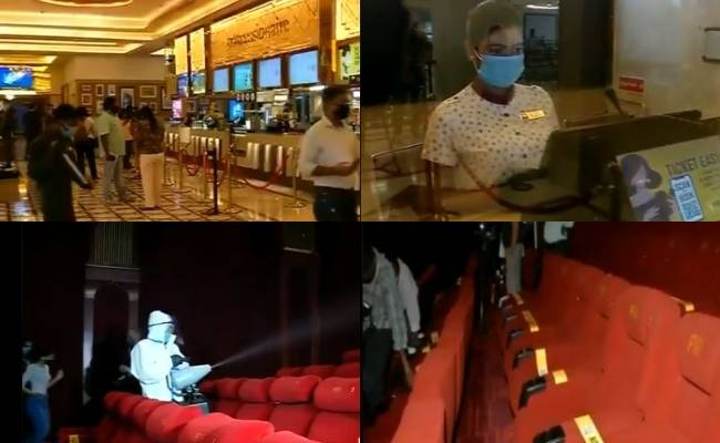 Theatres open from today What precautions are being taken