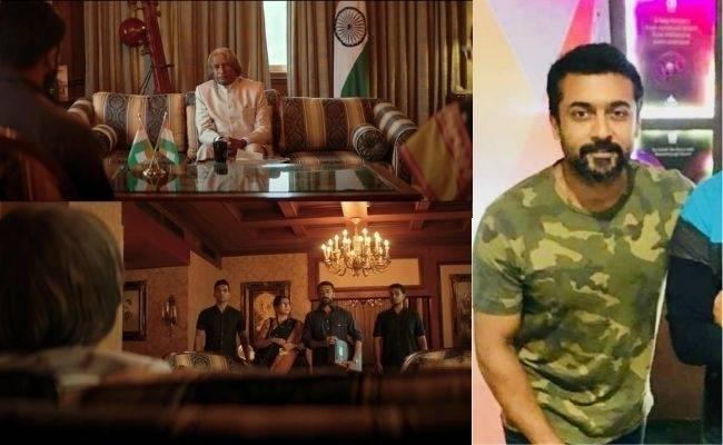 This actor dubbed for Kalam's voice in Suriya, Aparna Balamurali's Soorarai Pottru