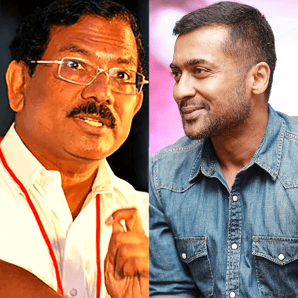 TN minister Mafoi Pandiarajan praises Suriya and Agaram Foundation