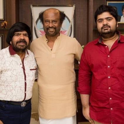 T.Rajendar meets Superstar Rajinikanth and invites him for Kuralarasan's wedding