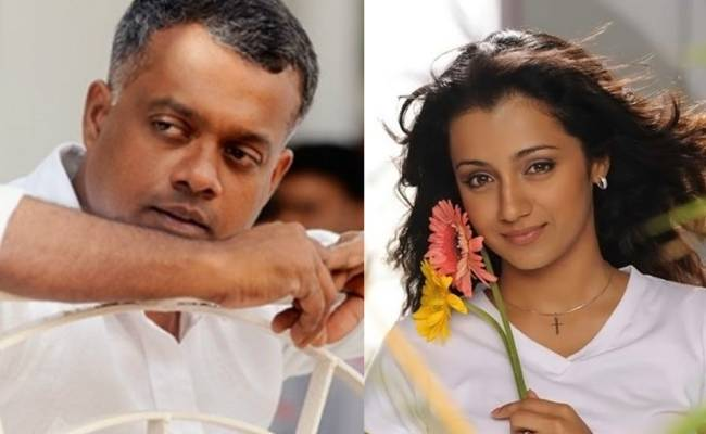Trisha and Gautham Menon shoot for a new video during lockdown