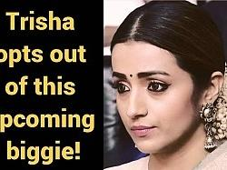 Trisha shocks fans - opts out of this upcoming biggie due to creative differences!