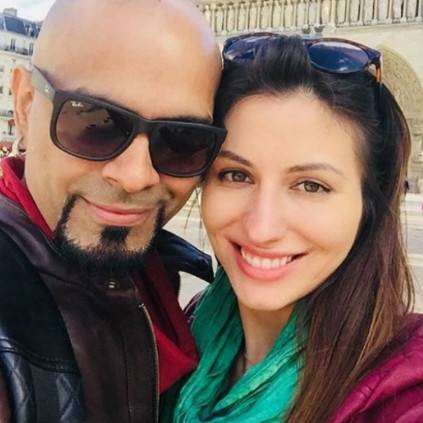 TV anchor Raghu Ram gets engaged to singer Natalie Di Luccio