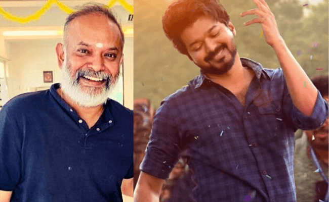 Venkat Prabhu reveals his favourite song from Vijay's Master and his favourite actor